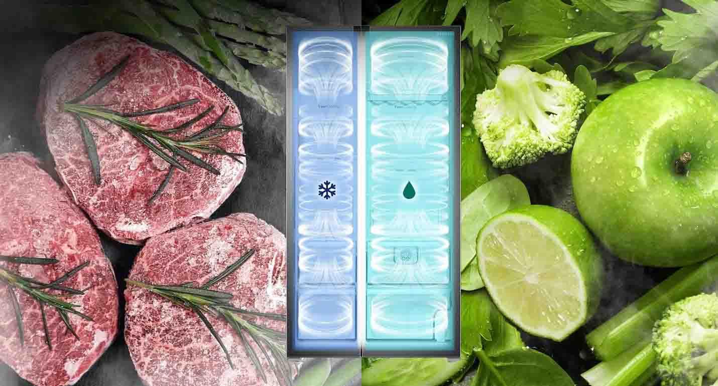 یخچال ساید بای ساید سامسونگ samsung rs51 refrigerator