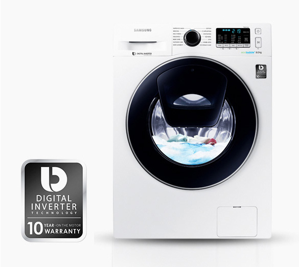 ماشین لباسشویی Add Wash سامسونگ 9کیلویی Samsung WW90K5210