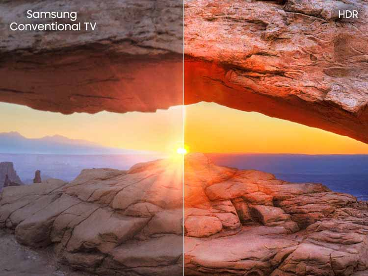 تلویزیون سامسونگ هوشمند فورکی منحنی Samsung 65RU7300 Smart