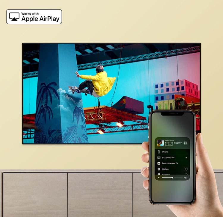 تلویزیون سامسونگ هوشمند 65 ru7300 منحنی Samsung 65RU7300 Smart