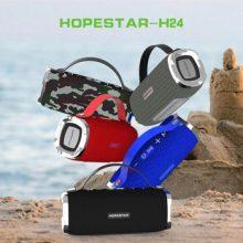 اسپیکر بلوتوثی ضد آب و پاوربانک هاپ استار Hopestar H24 Bluetooth Speaker
