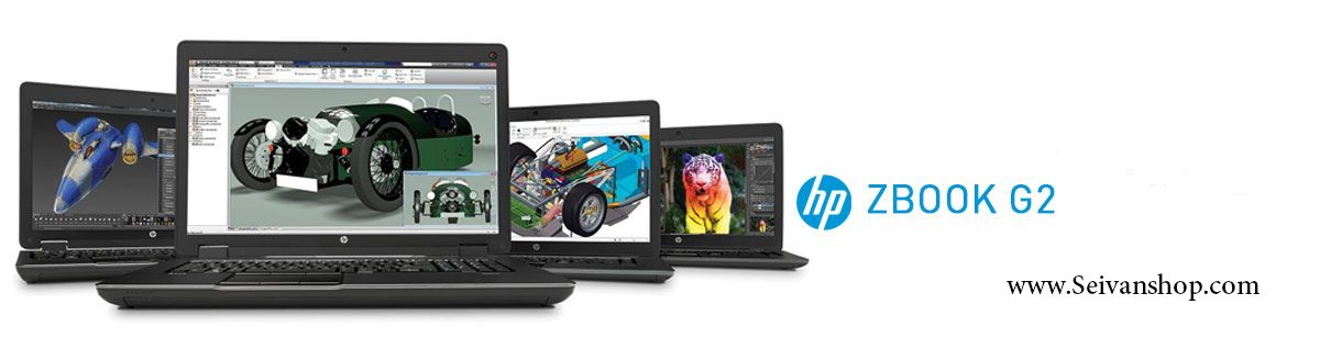 لپ تاپ استوک 17 اچ پی hp zbook g2