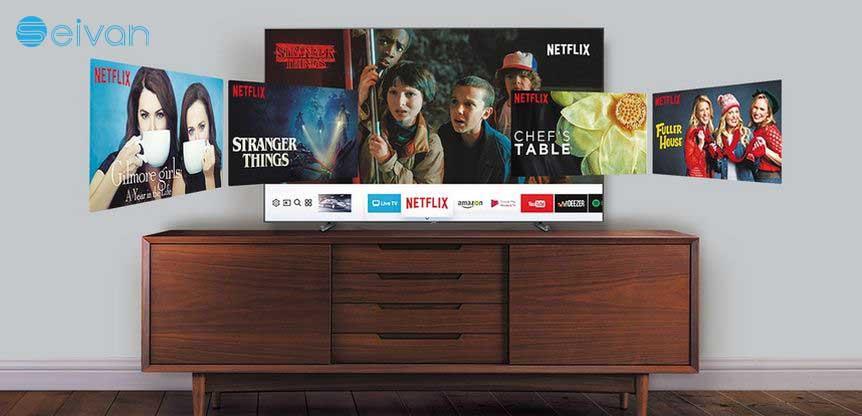 تلویزیون هوشمند N5370 سیوان شاپ بانه