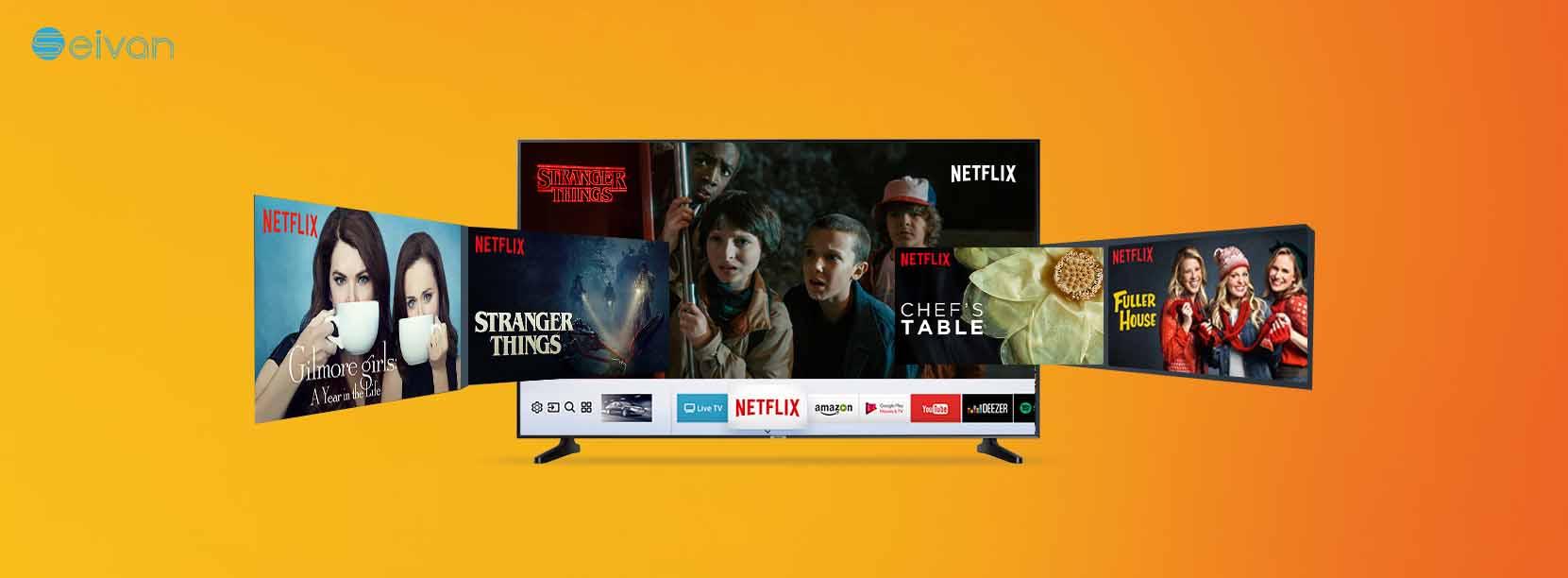 تلویزیون هوشمند جدید N5370 سیوان شاپ بانه