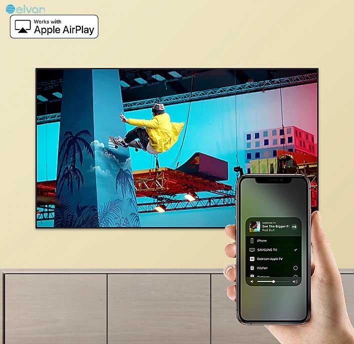 تلویزیون سامسونگ 55RU7100 سیوان شاپ بانه